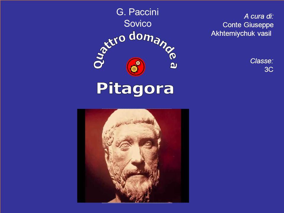 A cura di: Conte Giuseppe Akhtemiychuk vasil G. Paccini Sovico Classe: 3C
