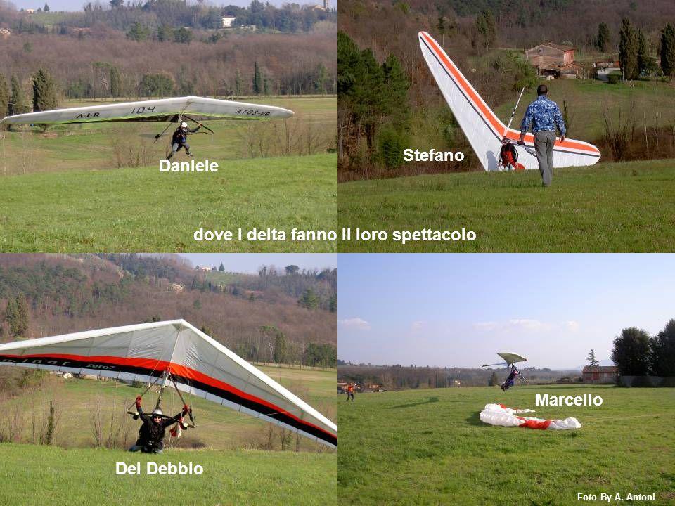 Daniele Stefano Del Debbio Marcello dove i delta fanno il loro spettacolo Foto By A. Antoni