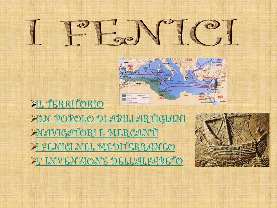 I Fenici sono unantica popolazione che abitò nella regione che da loro prese il nome di Fenicia, lattuale Libano, situato sulla sponda orientale del Mar Mediterraneo.
