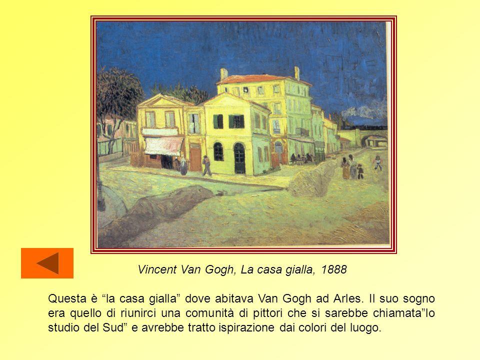 Il periodo di Arles A Parigi Van Gogh aveva ricevuto molti stimoli dal vivacissimo ambiente artistico, tanto che presto sentì il bisogno di fermarsi a