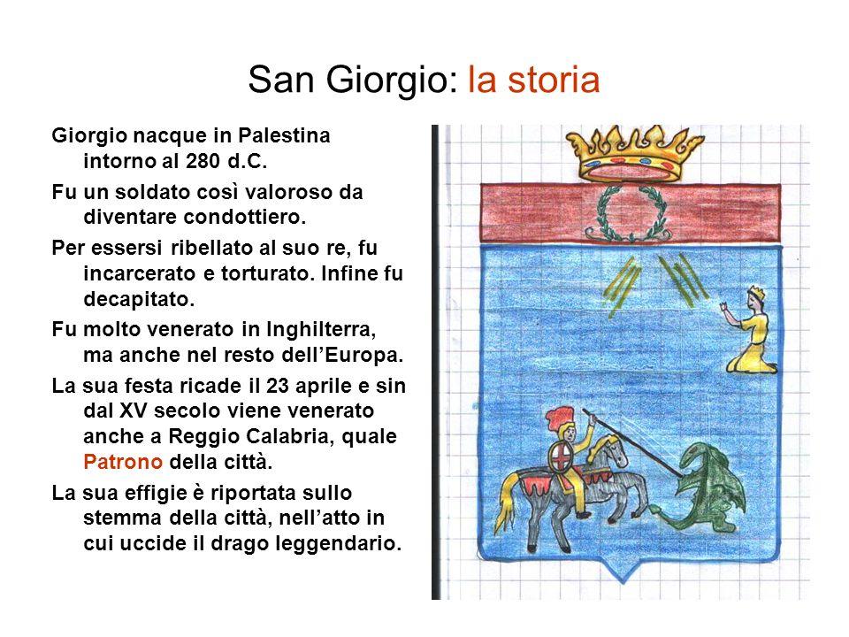 San Giorgio: la storia Giorgio nacque in Palestina intorno al 280 d.C.