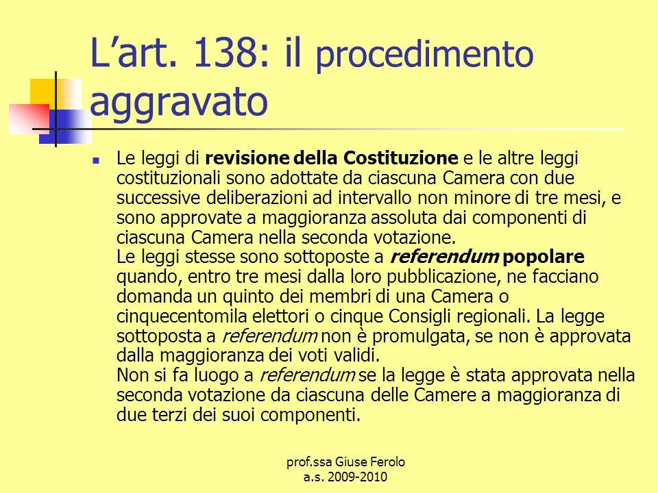 prof.ssa Giuse Ferolo a.s.2009-2010 Lart.