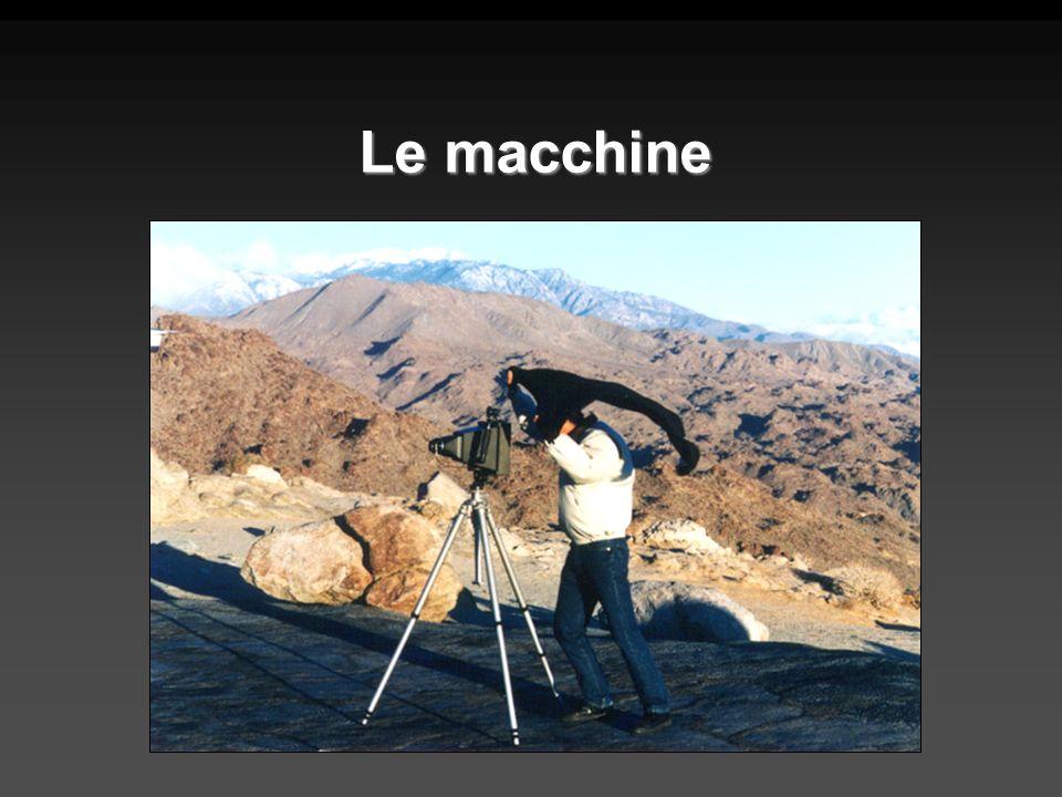 Le macchine di grande formato sono molto diverse da quelle a cui il fotoamatore è abituato, e anche dalle reflex di medio formato usate dai professionisti.