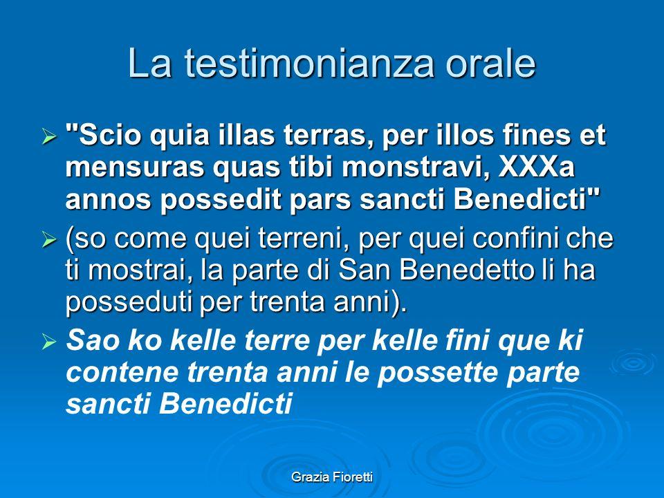 Grazia Fioretti UN