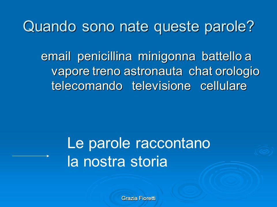 Grazia Fioretti La storia della lingua