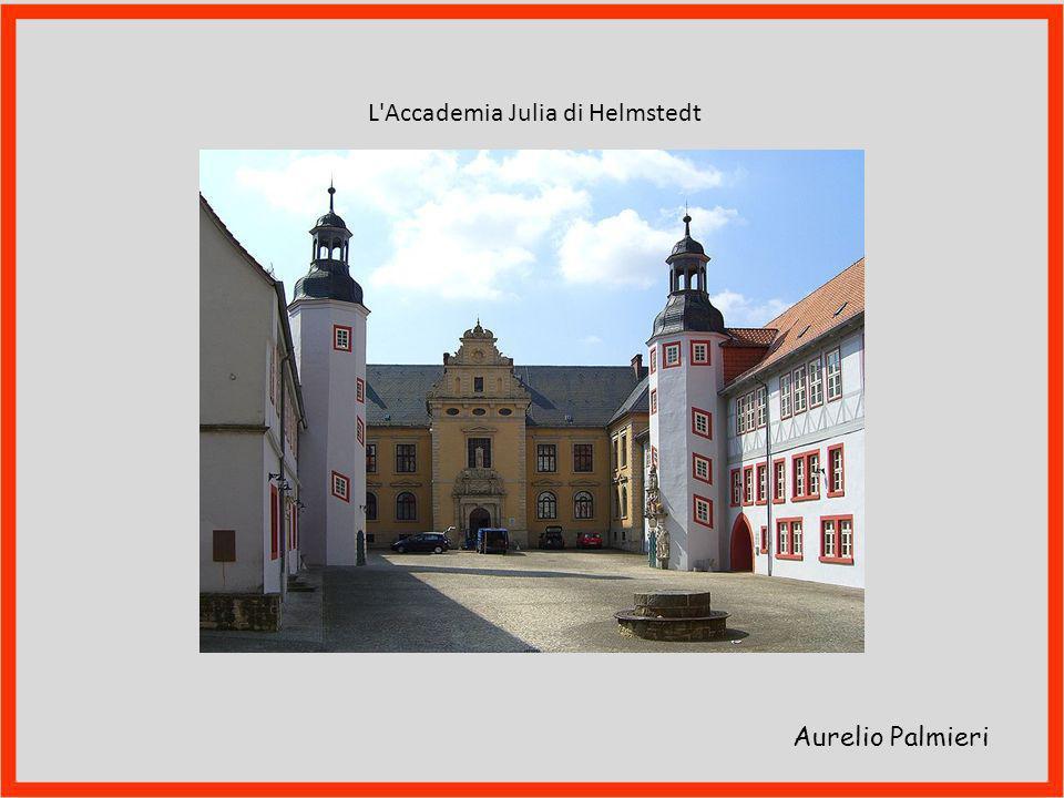 Aurelio Palmieri In aprile va a Praga, dove rimane sei mesi. Pubblica il De lampade combinatoria lulliana e il De lulliano specierum scrutinio, dedica