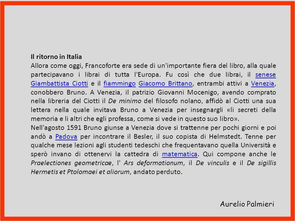 Aurelio Palmieri Francoforte: chiostro del convento carmelitano
