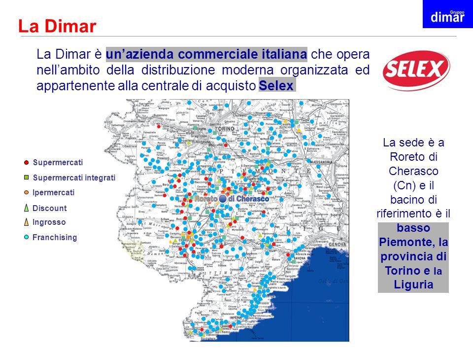 La Dimar La Dimar è unazienda commerciale italiana che opera nellambito della distribuzione moderna organizzata ed appartenente alla centrale di acqui