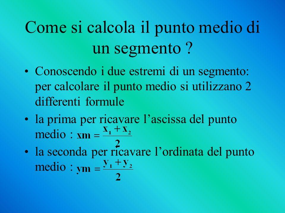 Come si trova lequazione di una retta avendo 2 punti .