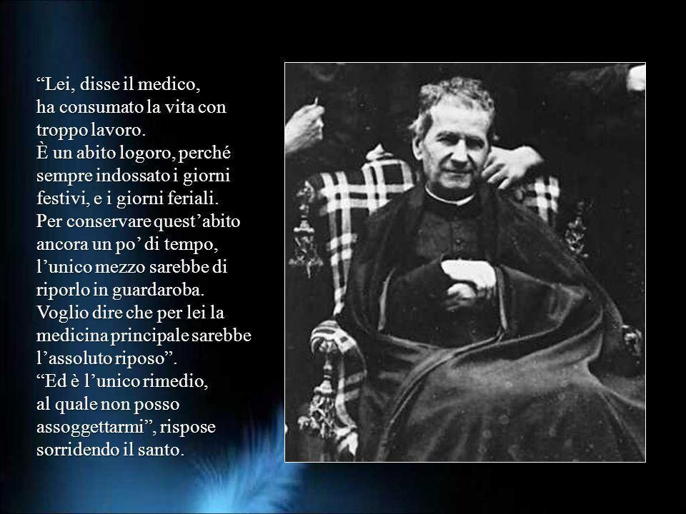 in un dono totale santo Profondamente Nel 1987 Combal, professore alluniversità di Montpellier, fu chiamato al letto di don Bosco. Il dottore esaminò