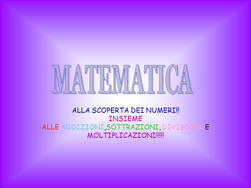 I numeri sono infiniti e possono essere naturali o decimali, naturali per esempio 1,2,3… invece i numeri decimali sono quelli con la virgola per esempio 1,5… I numeri inoltre possono essere relativi, per esempio -3, -6… sono quelli che vanno da 0 in giù.