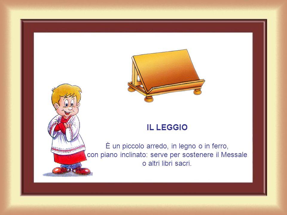 LAMBONE È un luogo elevato, di pietra, di marmo o di legno, dal quale si proclama la Parola di Dio durante la Messa, vale a dire le letture dell'Antic