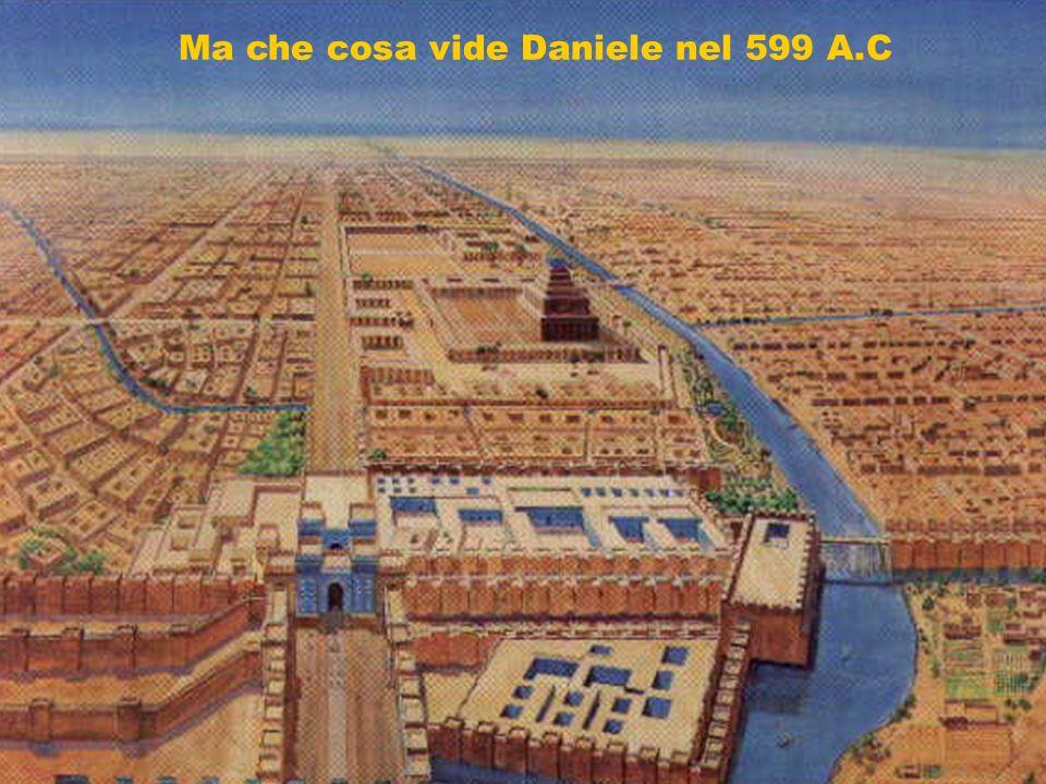 Babilonia cercò di cambiare Daniele