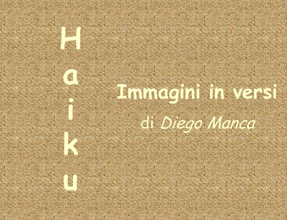 Immagini in versi di Diego Manca HaikuHaiku