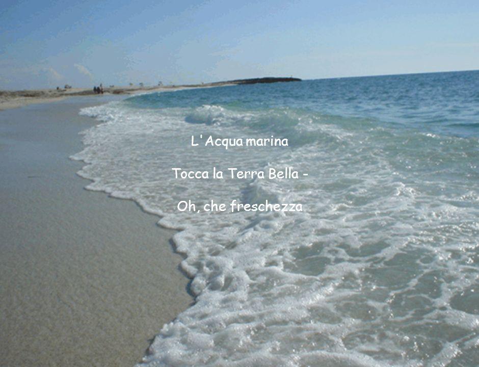 L'Acqua marina Tocca la Terra Bella - Oh, che freschezza