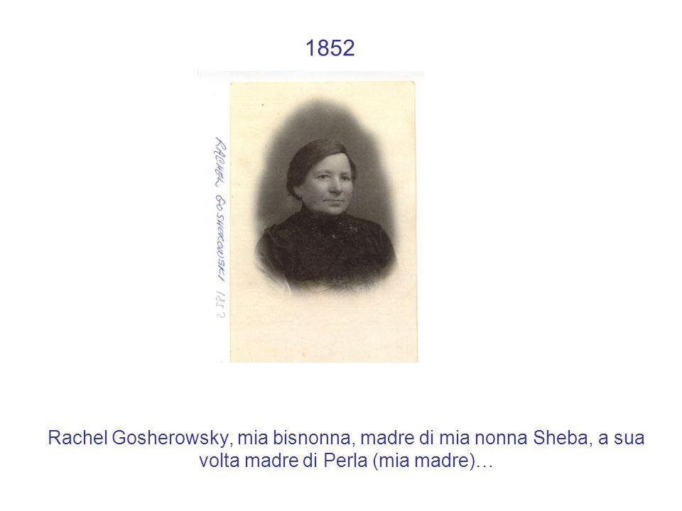 1929: la mia famiglia a Varsavia Cosa serve sapere: Da sinistra a destra Sheba, Moshe, Sarah, Perla, Solomon, prima del ghetto