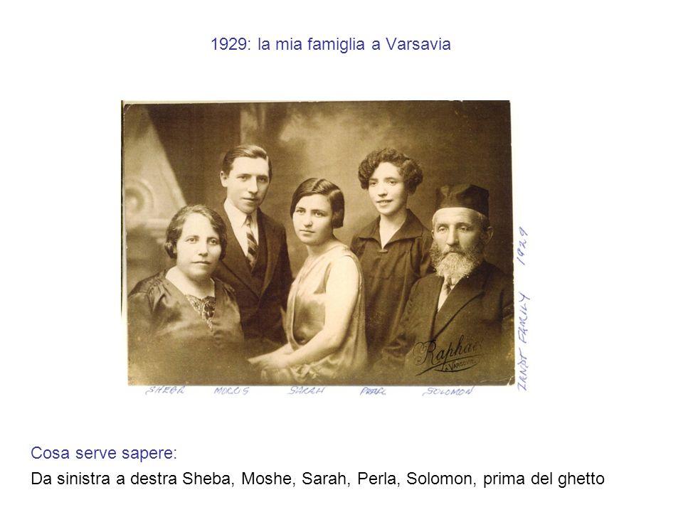 1914: loro 3 figli Cosa serve sapere, da sinistra a destra: MOSHE, mio padre adottivo dal 1945, ebreo americano, mi è stato rubato dalla Francia, SARAH, mia zia, deportata dalla Francia nel 1943 col suo marito Robert KAFFENBAUM, PERLA, mia mamma, deportata dalla Francia con il convoglio SNCF 77, 31 luglio 1944, 3 settimane prima della liberazione di Parigi da parte dellEsercito americano!