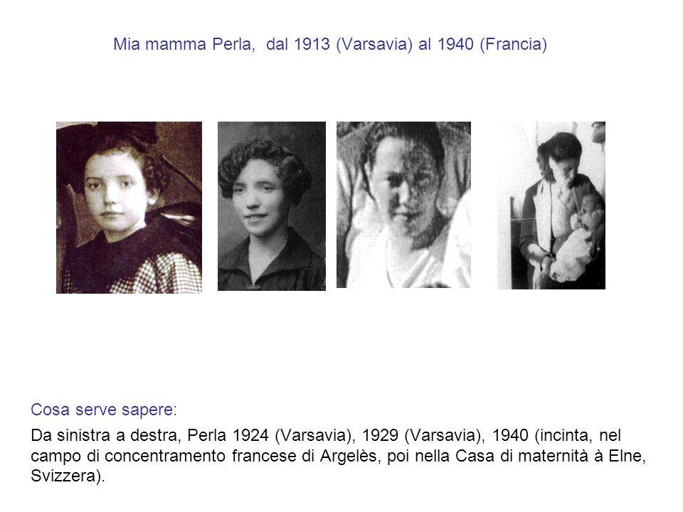 Luglio 1940, Francia, Perla, incinta, nel campo di Argelès Cosa serve sapere: Argelès - un campo francese per 500,000 spagnoli ed ebrei, protetto dalla polizia francese, non dai nazisti.