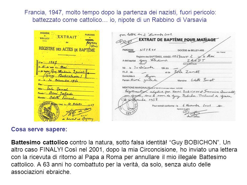 1945 - 1961 : il mio inferno nella francese famiglia cattolica BOBICHON Cosa serve sapere: La mia vita con la famiglia BOBICHON : violenze, abusi sessuali, sequestro di persona, furto morale e materiale, con la complicità dello Stato Francese.