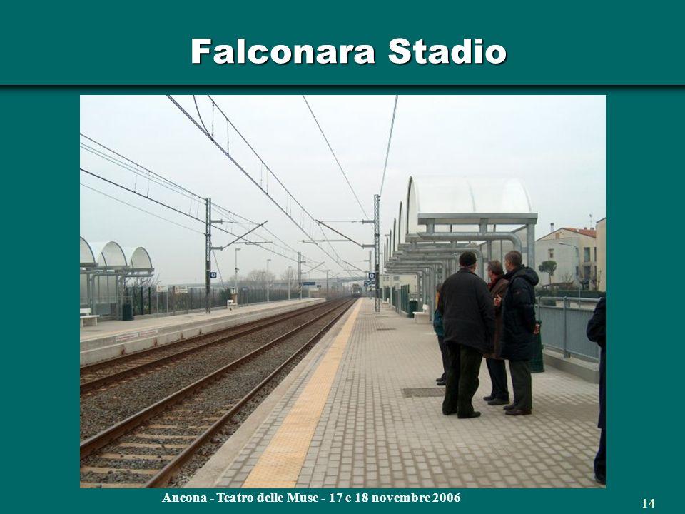 Ancona - Teatro delle Muse - 17 e 18 novembre 2006 13 Falconara Stadio