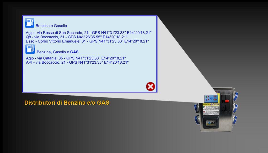 Distributori di Benzina e/o GAS
