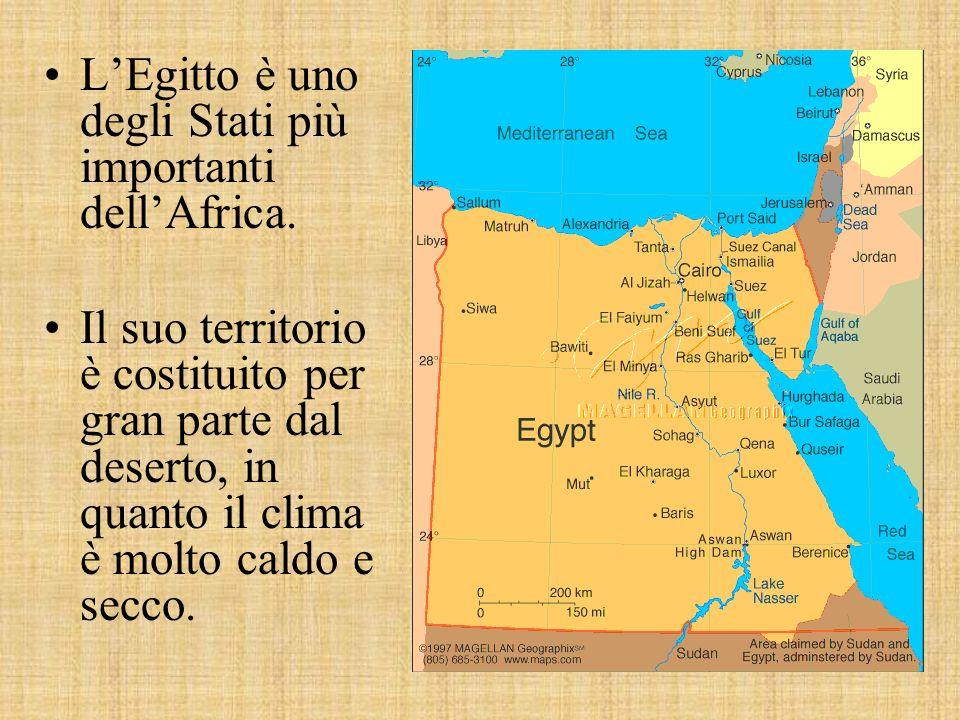 LEgitto è uno degli Stati più importanti dellAfrica.