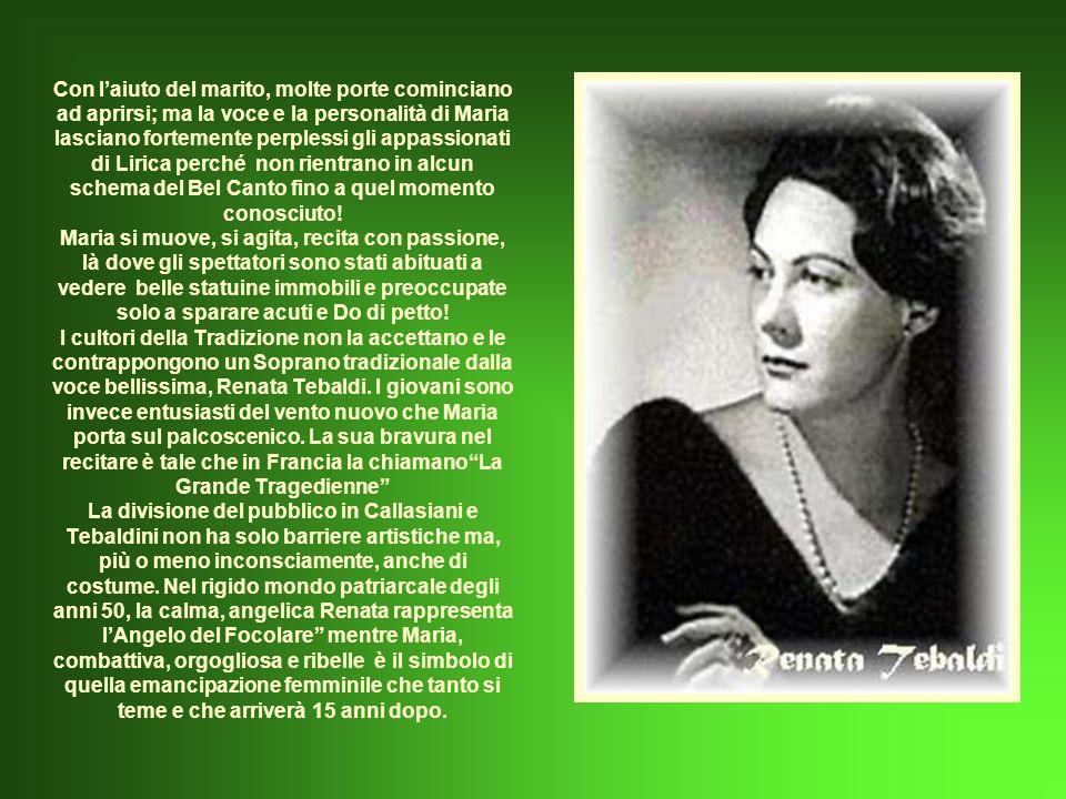I primi giornali a parlare di lei giovanissima, sono proprio quelli tedeschi, con corrispondenze da Atene.