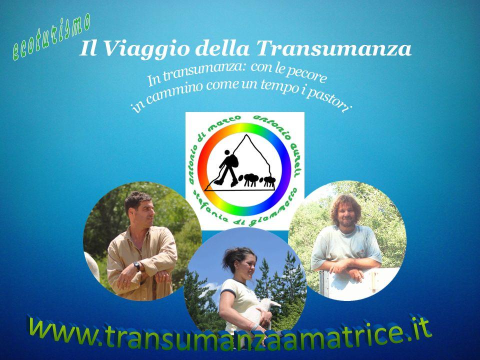 Il Viaggio della Transumanza e coturismo
