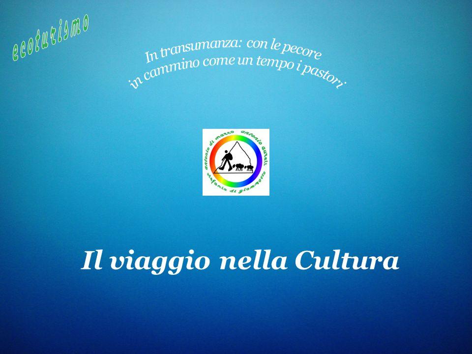 Il viaggio nella Cultura e coturismo