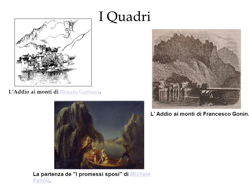 I Quadri LAddio ai monti di Renato Guttuso.Renato Guttuso L' Addio ai monti di Francesco Gonin. La partenza de