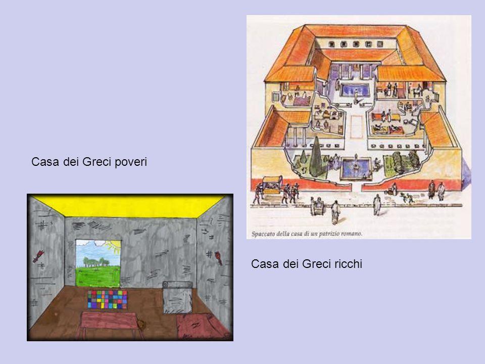 Casa dei Greci poveri Casa dei Greci ricchi