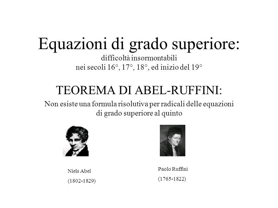 La formula di Ferrari per le quartiche. Sempre nellArs Magna, Cardano scrive che la formula risolutiva delle equazioni di quarto grado era dovuta a Lu