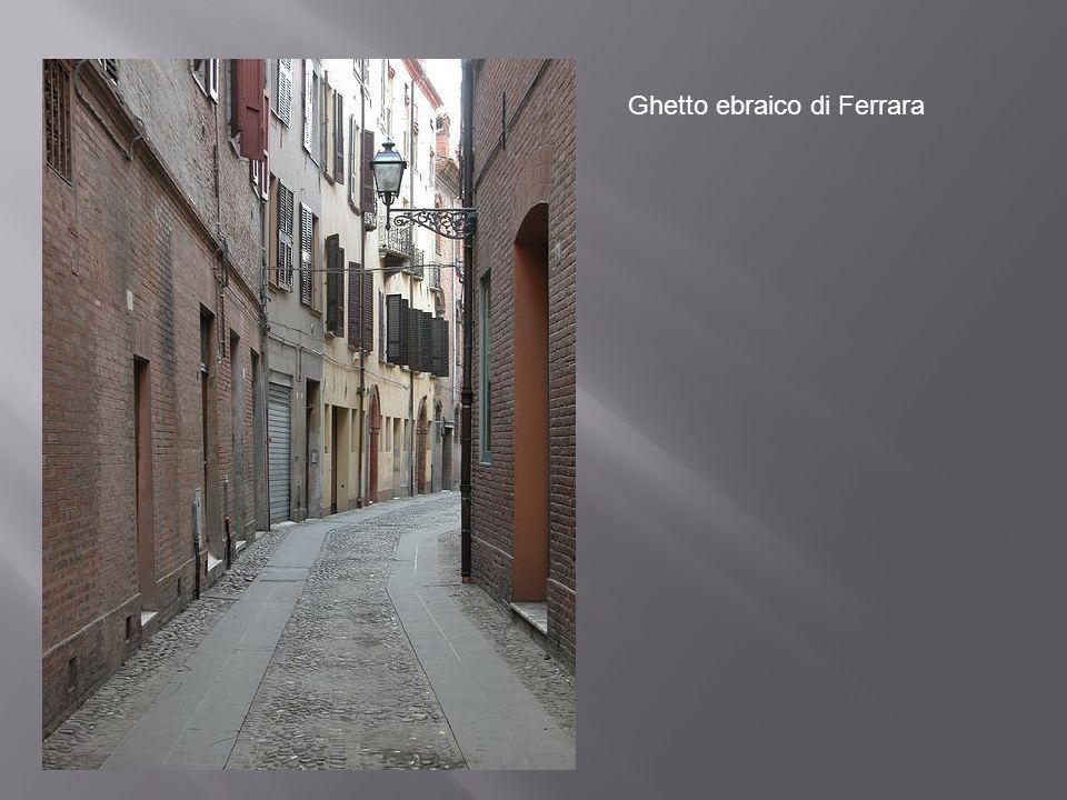 Ghetto ebraico di Ferrara