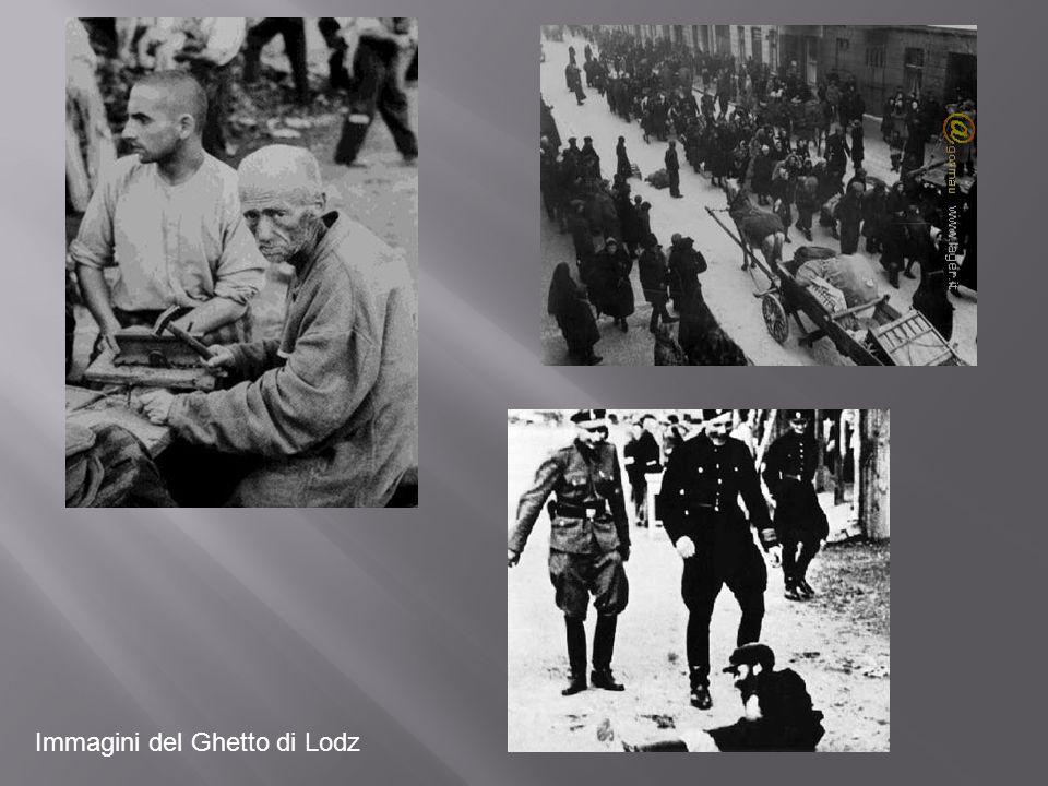 Immagini del Ghetto di Lodz