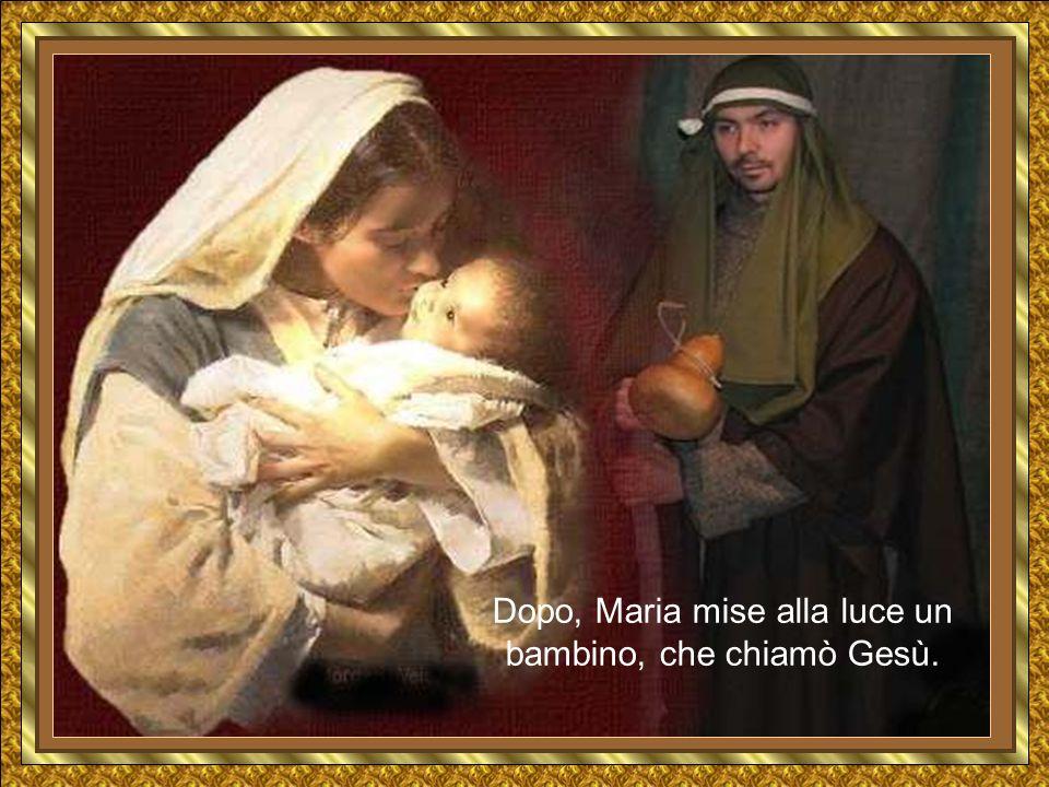 In quella stessa notte, una giovane donna, chiamata Maria, giunse alla stalla.