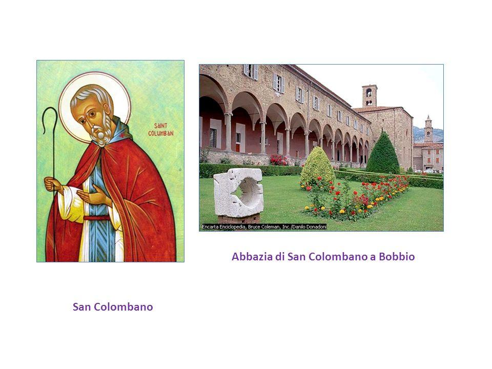 San Colombano Abbazia di San Colombano a Bobbio