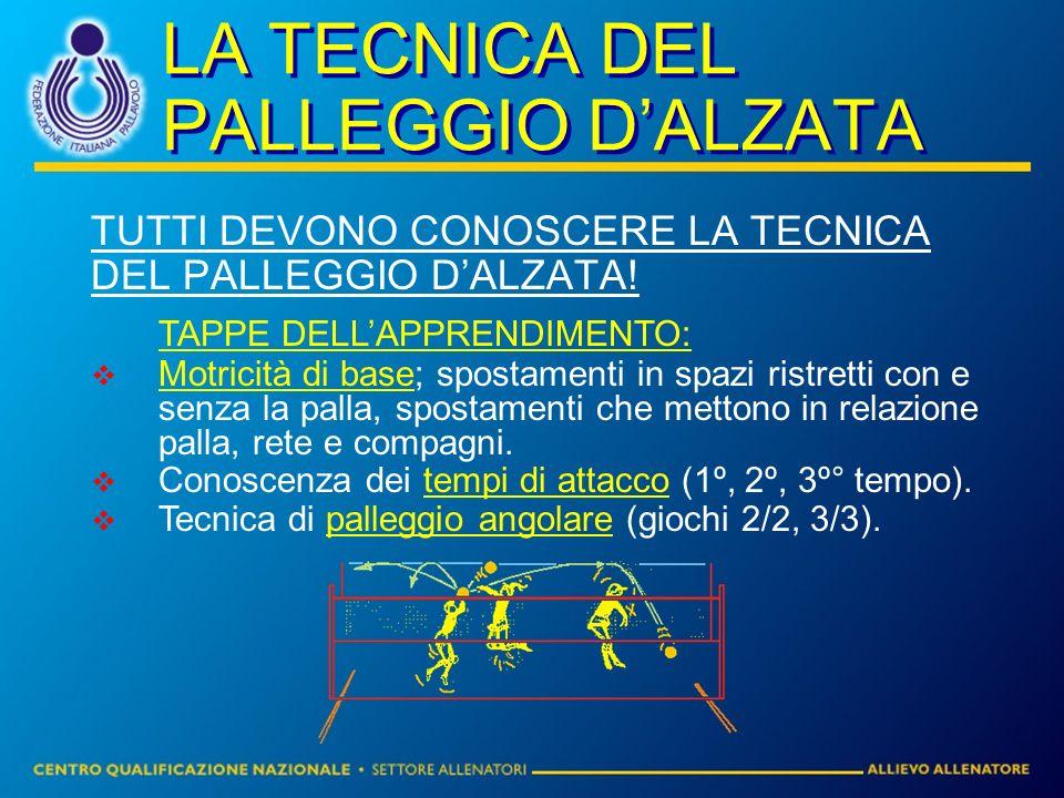 LA TECNICA DEL PALLEGGIO DALZATA TUTTI DEVONO CONOSCERE LA TECNICA DEL PALLEGGIO DALZATA.