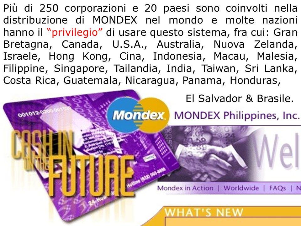... è un prodotto... MOTOROLA è la ditta che produce il microchip per MONDEX SMARTCARD. Hanno ideato vari modelli, che possono essere impiantati lette