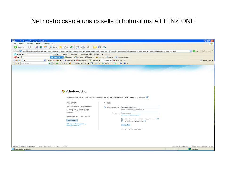 Operazioni finali Basta accedere al pannello di controllo su altervista inserendo login e password.