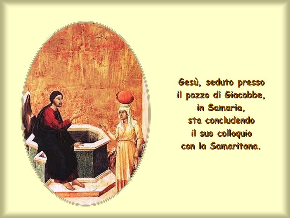 E un germe di questa Vita, Gesù, poco prima, col suo colloquio e col suo amore lha comunicato alla Samaritana.