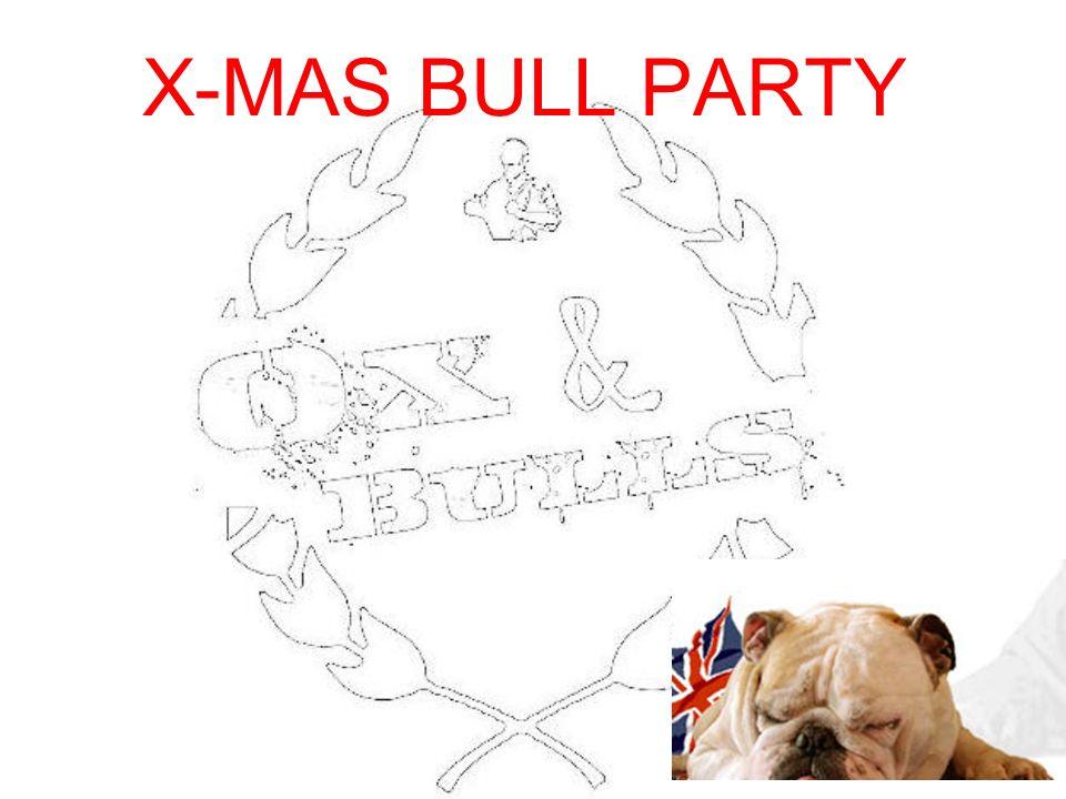 X-MAS BULL PARTY