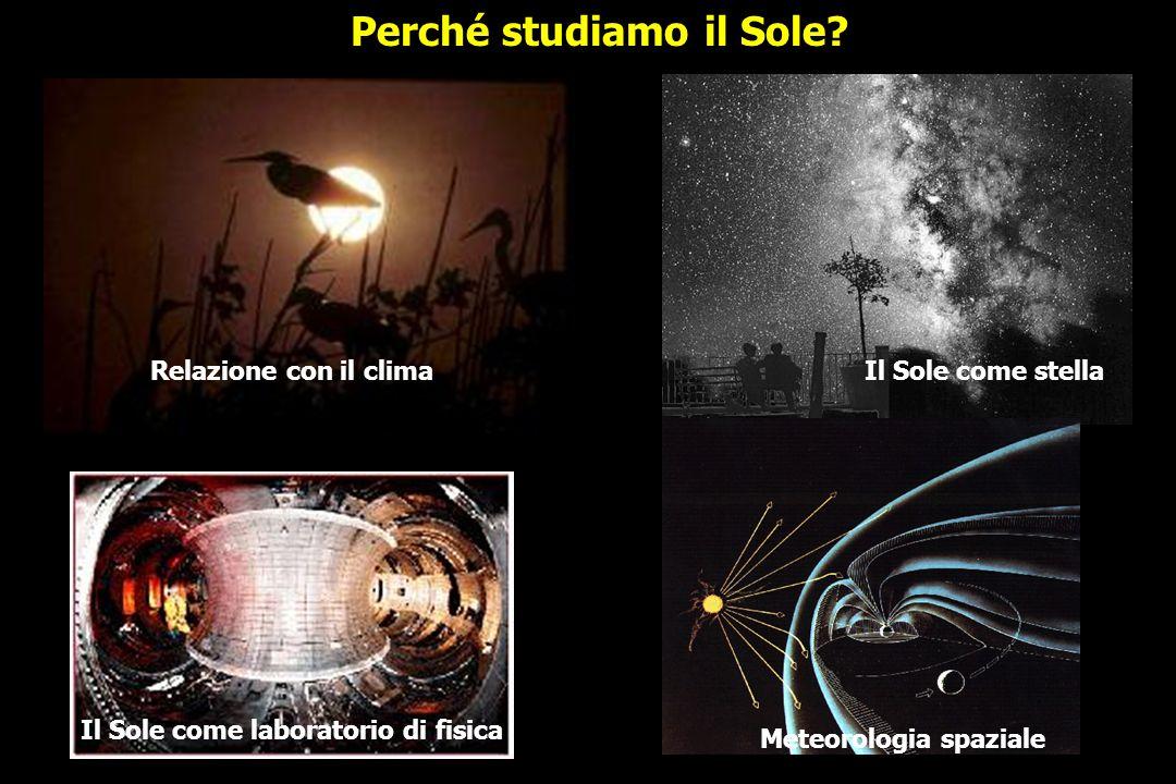 Perturbazione magnetica che si propaga dal Sole; dovè la Terra.