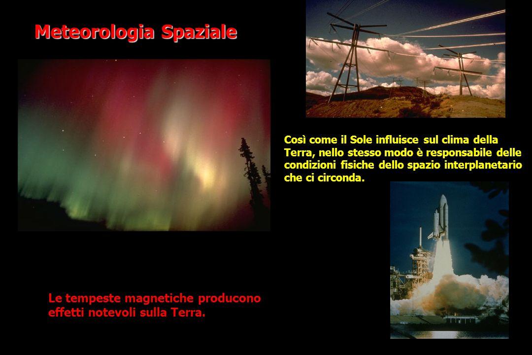Le tempeste magnetiche producono effetti notevoli sulla Terra.