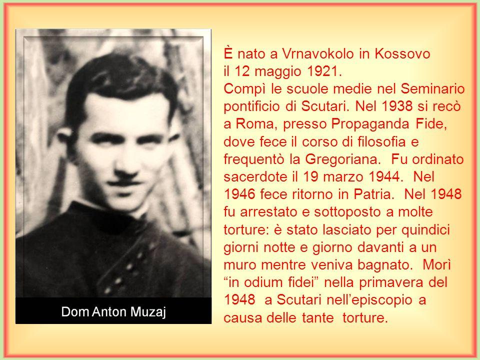 È nato a Wrocław,Polonia, il 2 dicembre 1896. Compì gli studi di teologia in Bosnia, e fu ordinato sacerdote a Scutari il 14 giugno 1925. Fu trasferit