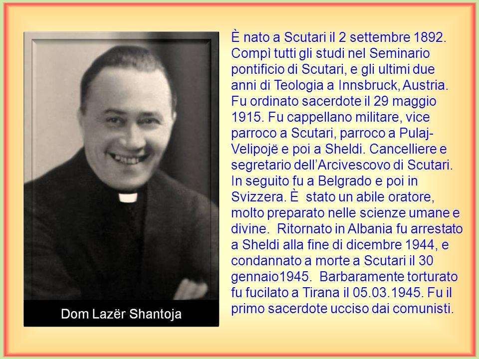 È nato a Worringen in Germania il 2 agosto 1906. Compì le scuole superiori a St. Wendel, il corso filosofico a St. Augustin e quello teologico a Möldi