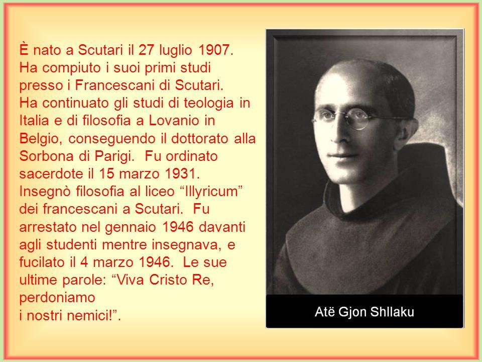 È nato a Brozzo – Marcheno, Brescia in Italia, il 19 ottobre 1899. Fu ordinato sacerdote a Roma, il 9 luglio 1922. Laureato in filosofia e teologia, f