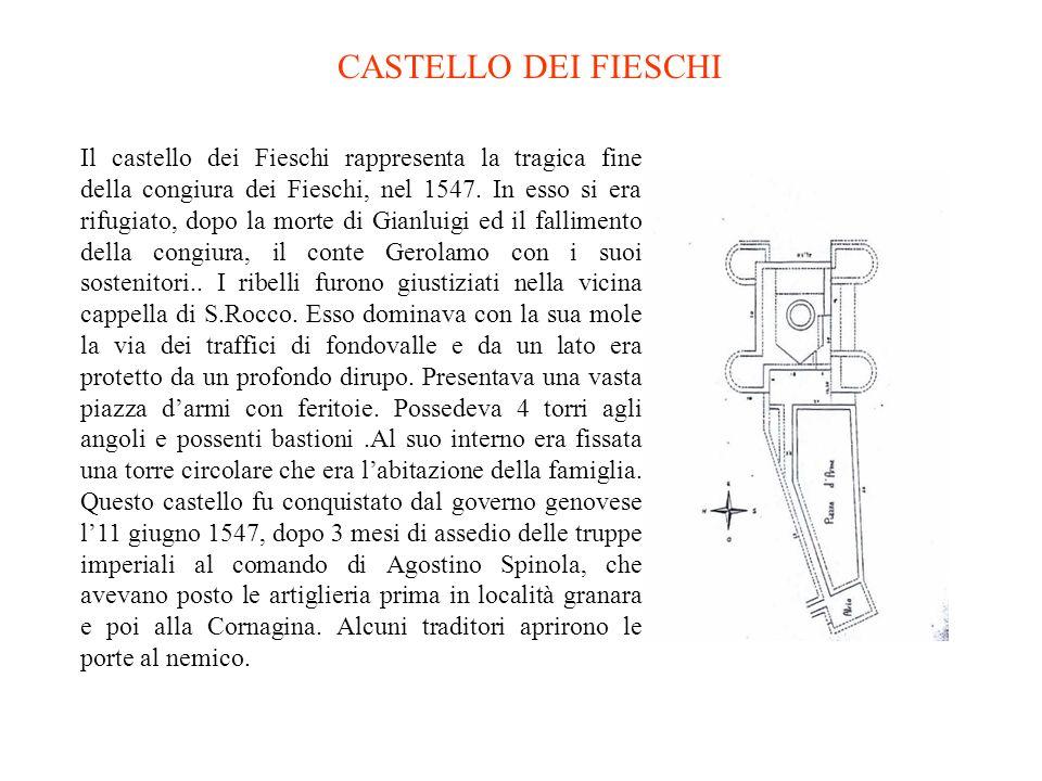 Sullaltare della cappella che si trova in cima alla navata laterale destra si trova un altro dipinto del Fiasella, Santa Chiara che mette in fuga i Sa