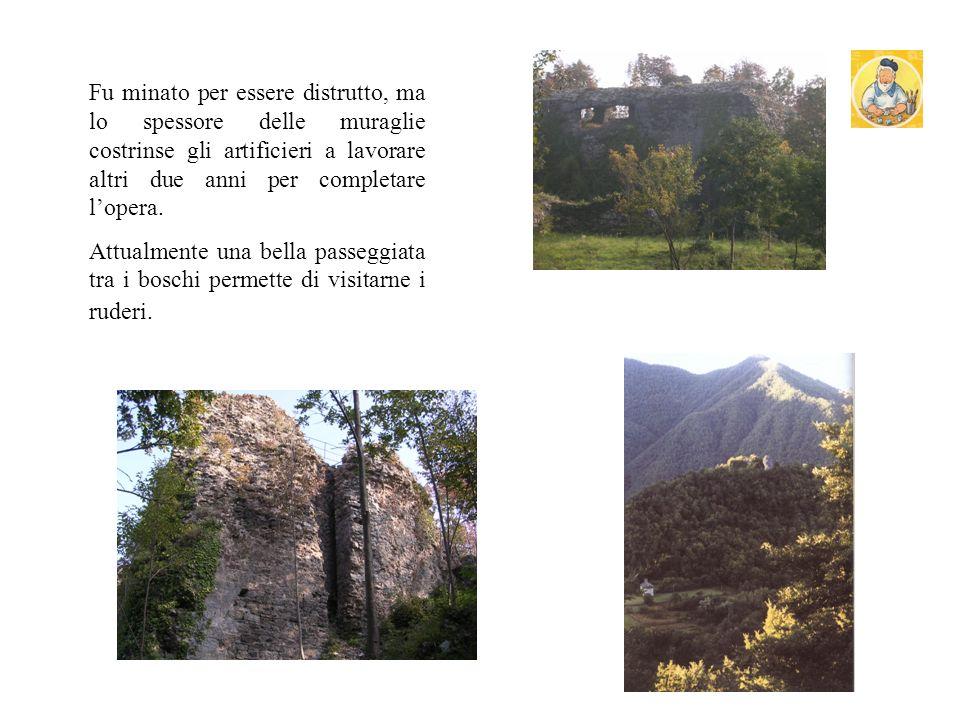 CASTELLO DEI FIESCHI Il castello dei Fieschi rappresenta la tragica fine della congiura dei Fieschi, nel 1547. In esso si era rifugiato, dopo la morte