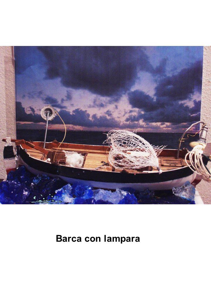 Barca con lampara