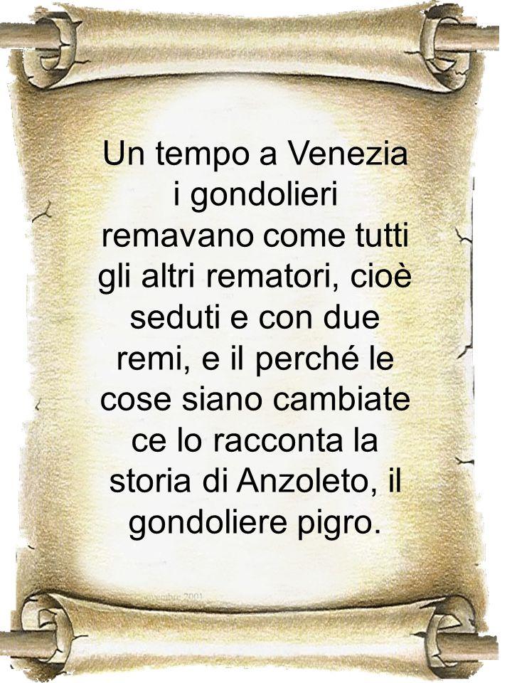 Un tempo a Venezia i gondolieri remavano come tutti gli altri rematori, cioè seduti e con due remi, e il perché le cose siano cambiate ce lo racconta